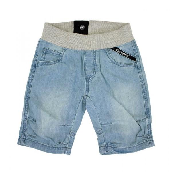 Villervalla Capri Shorts light wash
