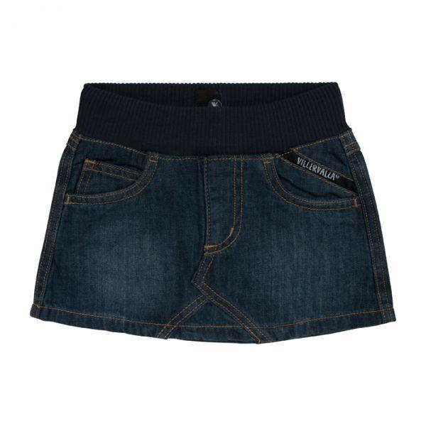 Villervalla Skirt in soft denim