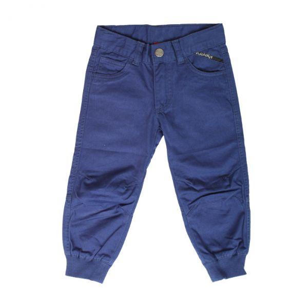 VILLERVALLA pants TWILL DRK BLUEBERRY
