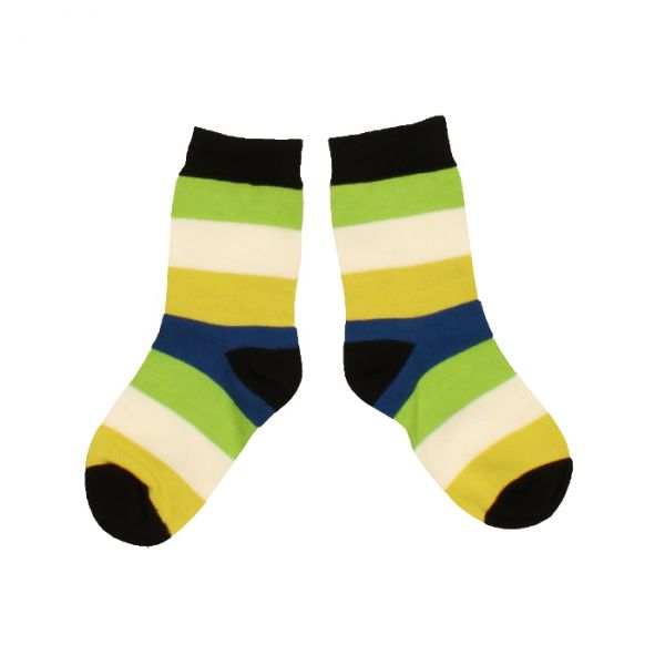 VILLERVALLA socks COBALT MULTISTRIPE