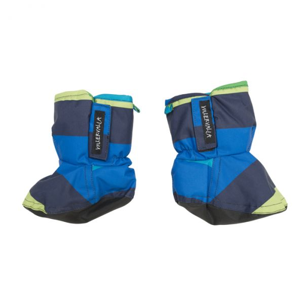 VILLERVALLA Waterproof (8000mm) booties with fleece lining and reinforcement under foot Oslo