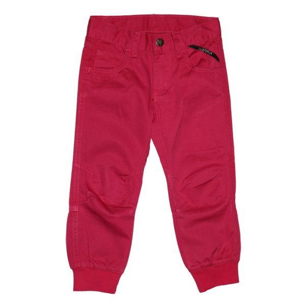 VILLERVALLA pants TWILL DRK RASPBERRY
