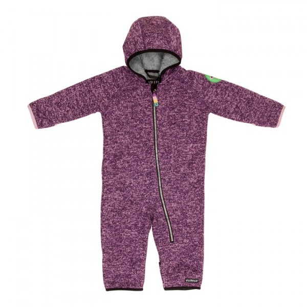 Villervalla neues Modell! Pile Fleece Overall grape/orchid