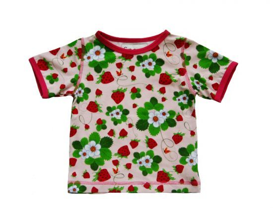 Snoozy - Short Sleeve T-Shirt - Strawberry