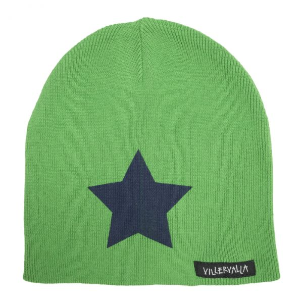 VILLERVALLA Knitted hat Drk basil