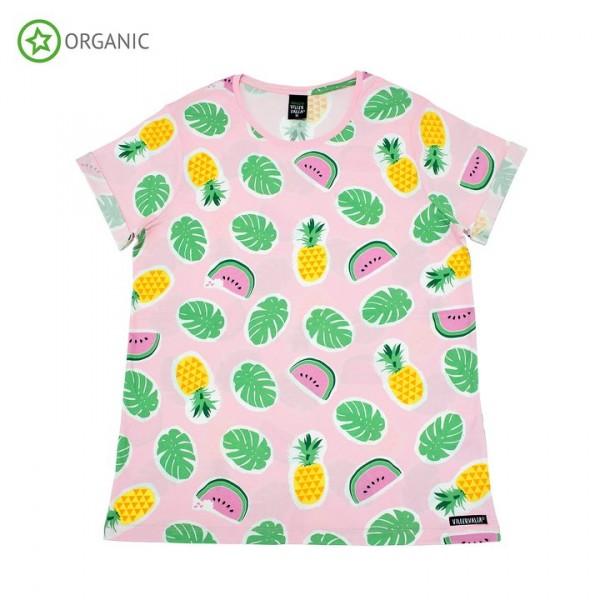 Villervalla Kurzarm Tshirt für Erwachsene lgt azalea