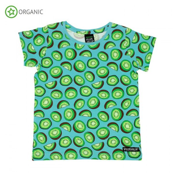 Villervalla kurzärmliges T-shirt kiwi