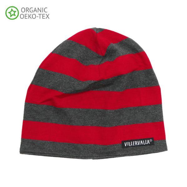 Villervalla Soft tricot hat paprika/mosaic