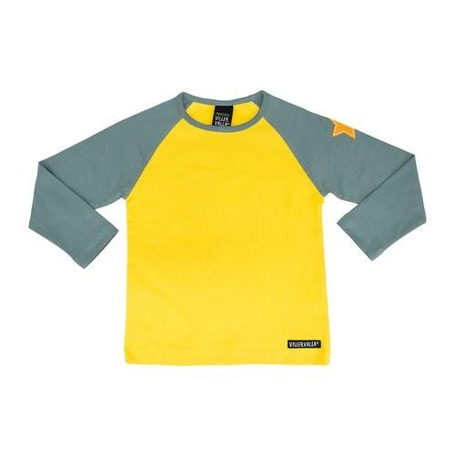 Villervalla Tshirt sunflower/cement