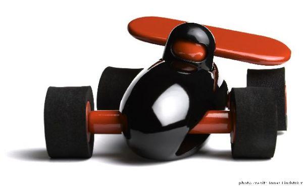 racer f1, black
