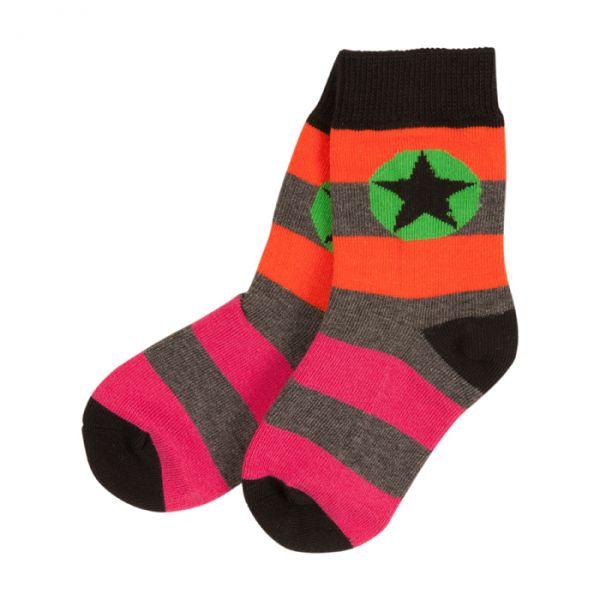Villervalla Socks cranberry/carrot