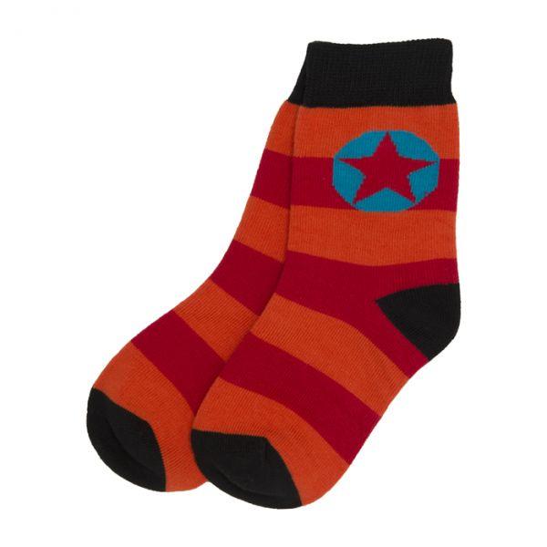 VILLERVALLA Socks ORANGE/CHILI
