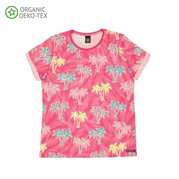 Villervalla Kurzarm T-shirt für Erwachsene flamingo