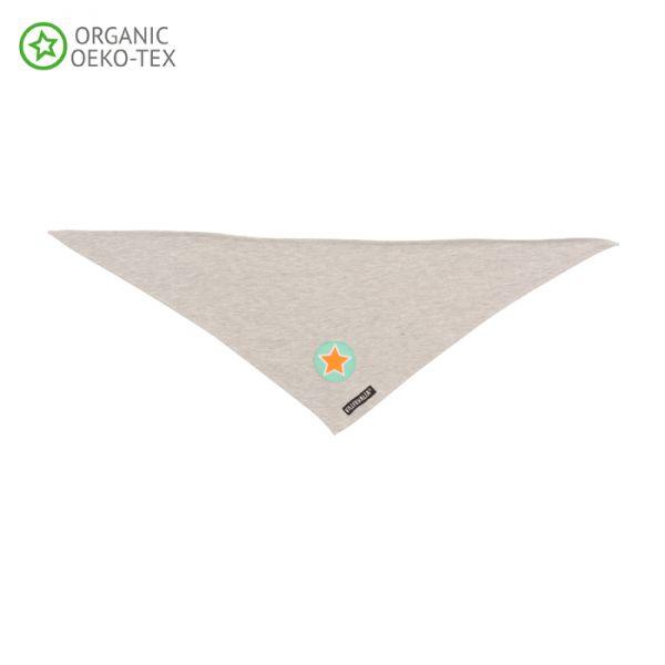 Villervalla Soft tricot scarf grey melange