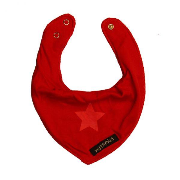 VILLERVALLA reversible scarf FLEECE DRK TOMATO