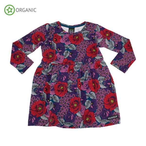 Villervalla langärmliges Kleid flower