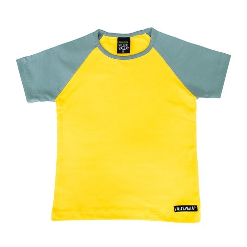Villervalla Kurzarm Tshirt sunflower/cement