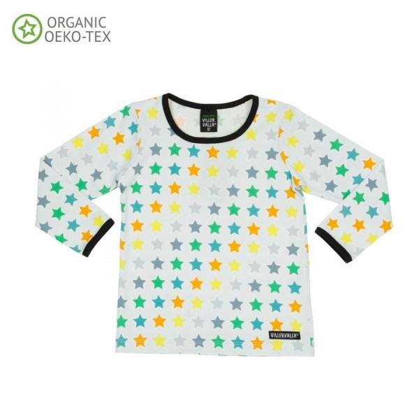 Villervalla langärmliges T-shirt mist