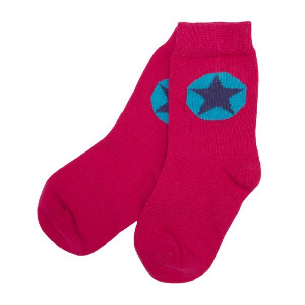 VILLERVALLA Socks Drk Cranberry