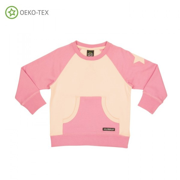 Villervalla Sweatshirt fuchsia/rose