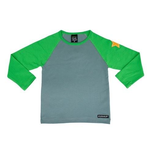 Villervalla Tshirt cement/pea