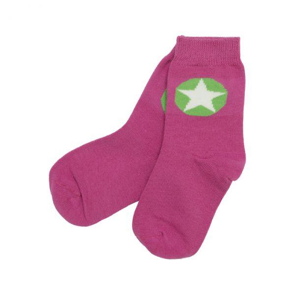 VILLERVALLA Socks Rasberry