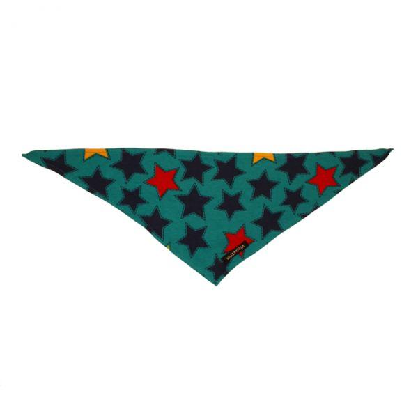 VILLERVALLA scarf STARS DRK BLUEBERRY