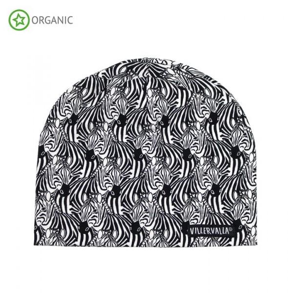 Villervalla Mütze zebra