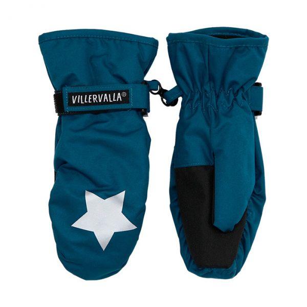 Villervalla Waterproof (8000mm) glove with fleece lining pacific ... bec9b9a2a4