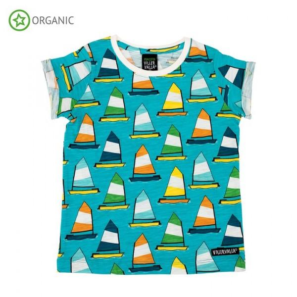 Villervalla kurzärmliges T-shirt sailboat