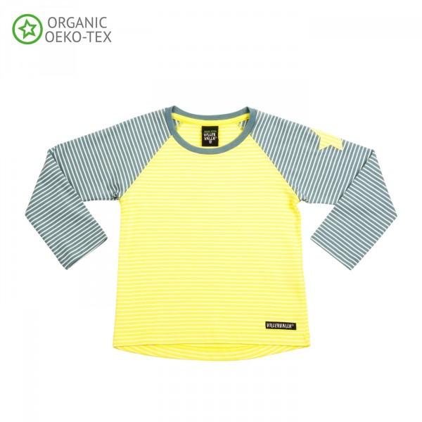 Villervalla T-shirt lemonade/rock