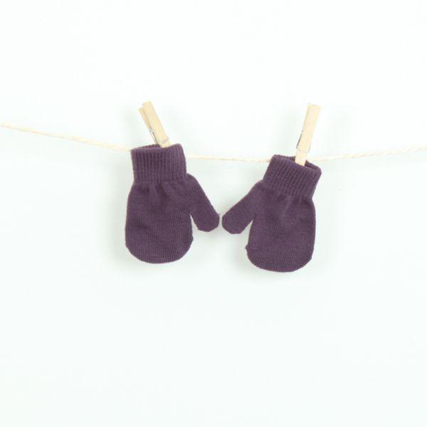 VILLERVALLA Handschuh MITTEN GLOVE - DRK VIOLET - 1-3 Jahre