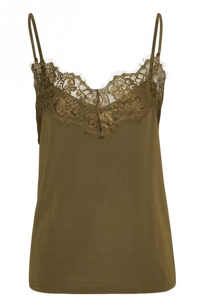 Soaked in luxury Clara Top olive