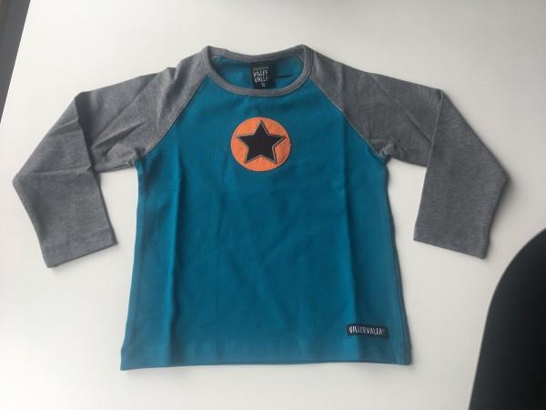 Villervalla langärmliges Tshirt atlantic