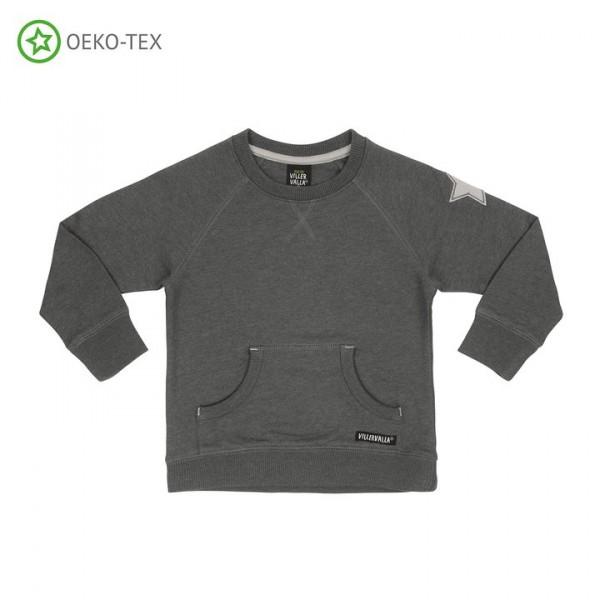 Villervalla Sweatshirt mit Taschen storm/breeze