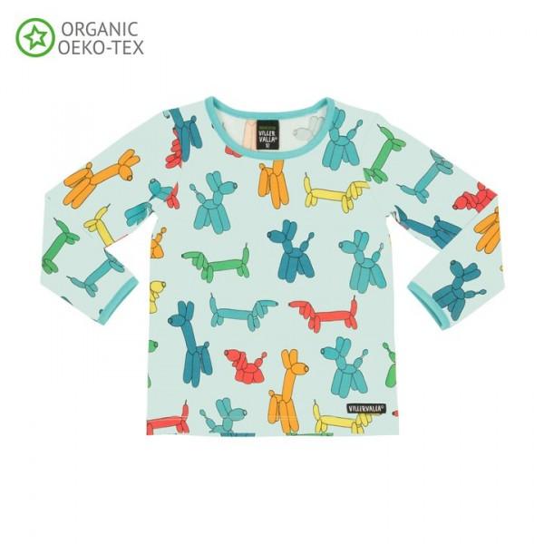 Villervalla langärmliges T-shirt surf