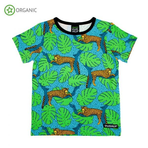 Villervalla kurzärmliges T-shirt leopard