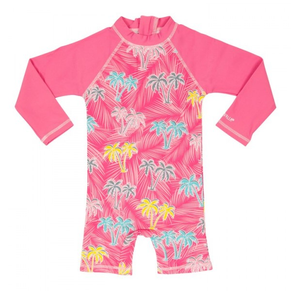 Villervalla UV-Anzug flamingo zum Baden in der Sonne, Schutzfaktor 50+