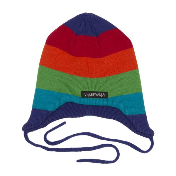 VILLERVALLA Knitted hat with string TIVOLI