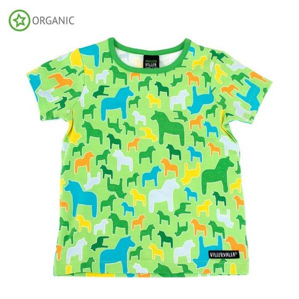 Villervalla kurzärmliges T-shirt lgt pea