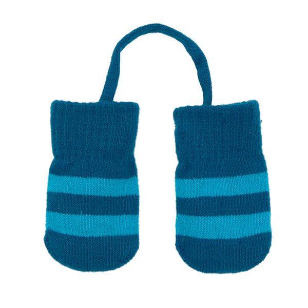 Villervalla Baby glove 0-1 years drk pacific/mosaic