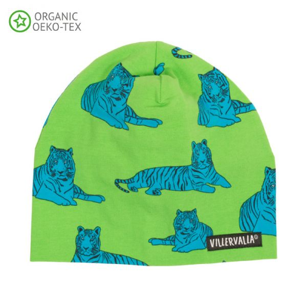 Villervalla Soft tricot hat avocado