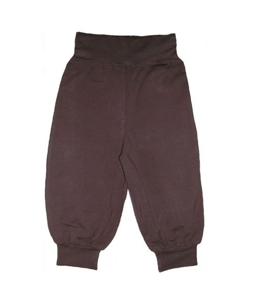 Snoozy Single Colour Baby Pants - Brown