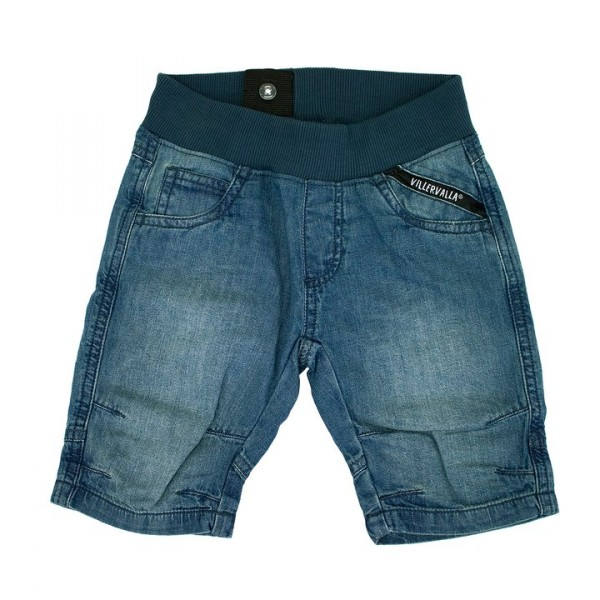 Villervalla Capri Shorts indigo wash