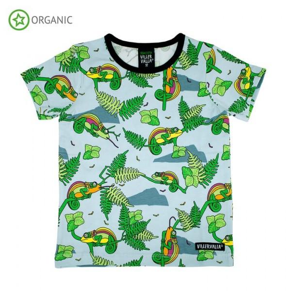 Villervalla kurzärmliges T-shirt Chameleon