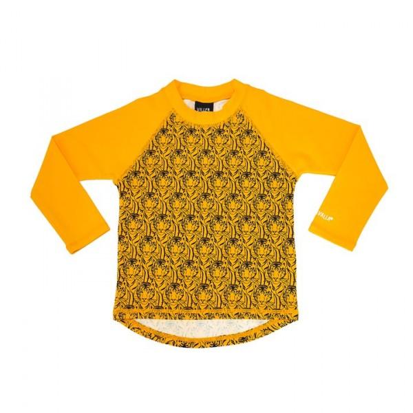 Villervalla UV-Shirt tiger/mango mit 50+ Schutz