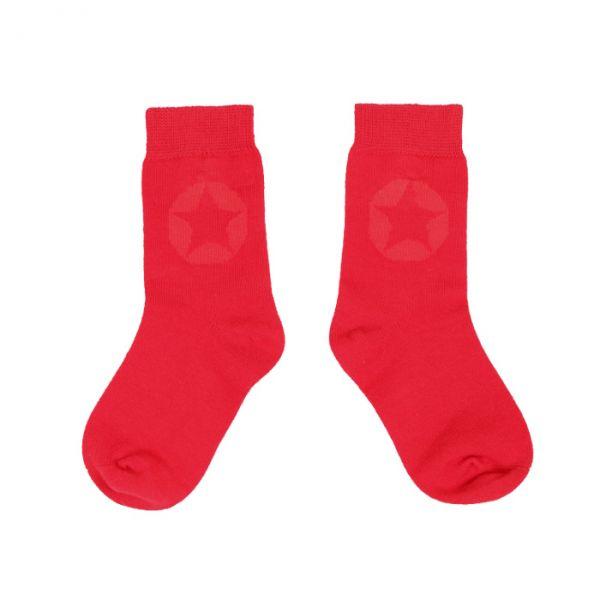 VILLERVALLA socks DRK TOMATO