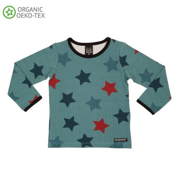 Villervalla langärmliges T-shirt für Erwachsene bay