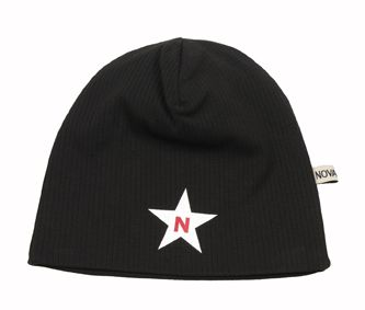 NOVA STAR W-Beanie Star Black