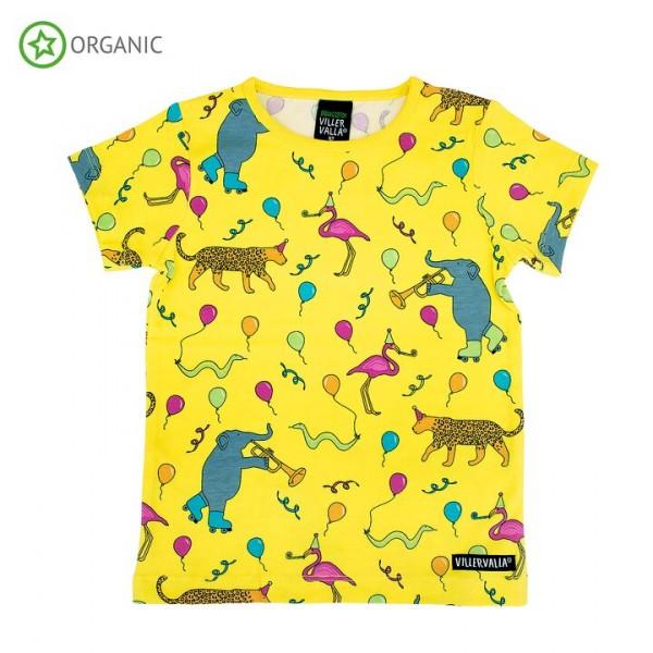 Villervalla kurzärmliges T-shirt party animals
